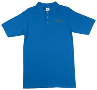 Royal Blue Polo Front